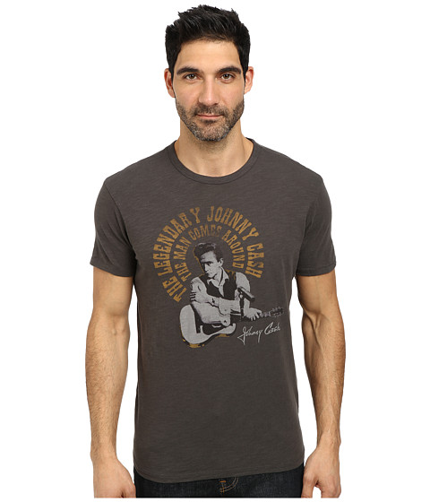 Lucky Brand - Cash Poster Graphic Tee (Black Mountain) Men