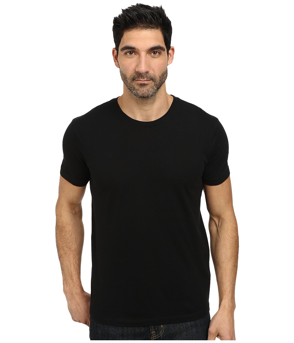Lucky Brand - Basic Crew Neck Tee (Jet Black) Men