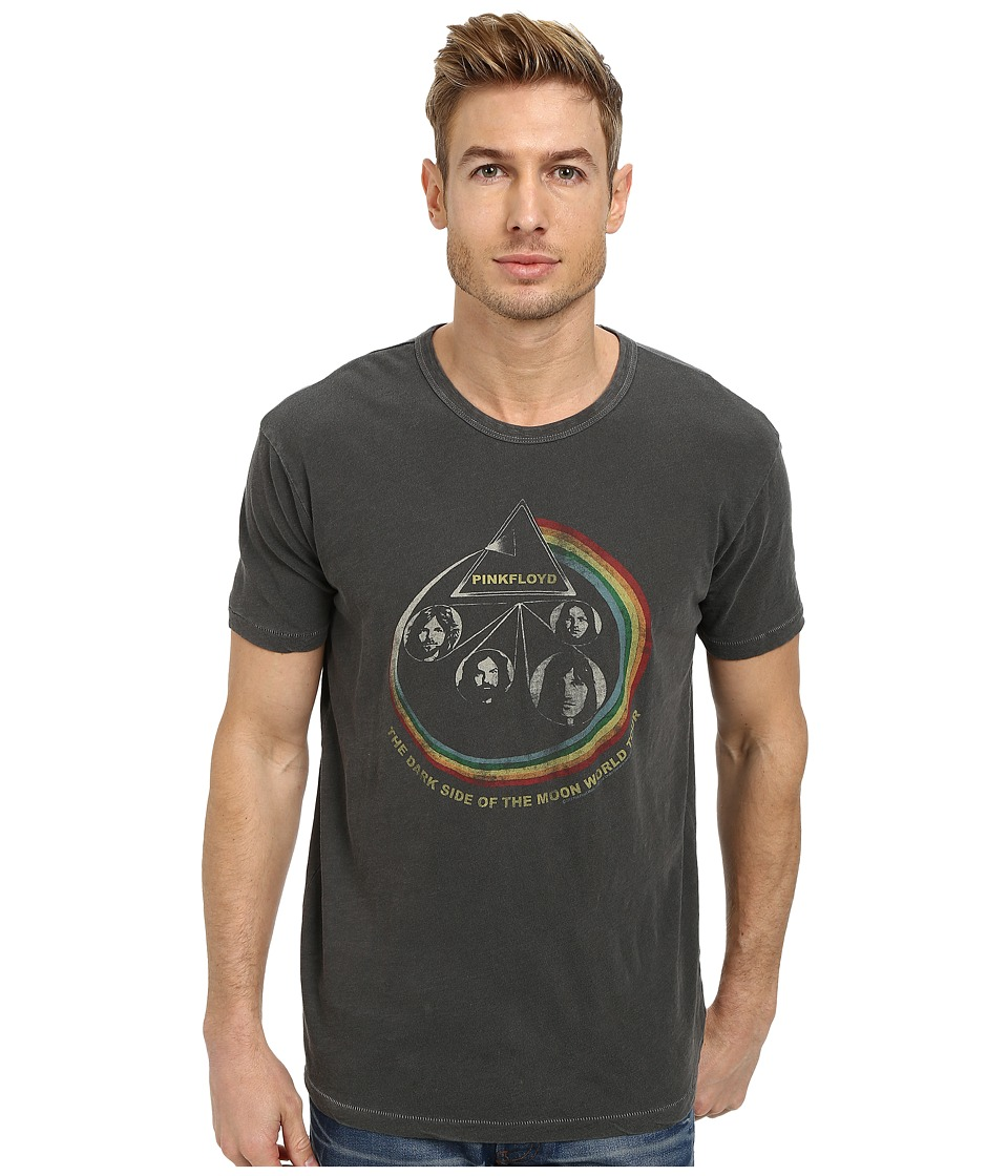 Lucky Brand - Pink Floyd Rainbow Graphic Tee (Black Mountain) Men