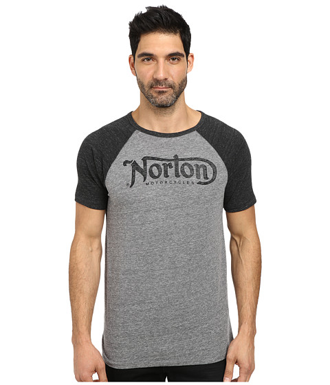 Lucky Brand - Norton Logo Graphic Tee (Multi) Men's T Shirt