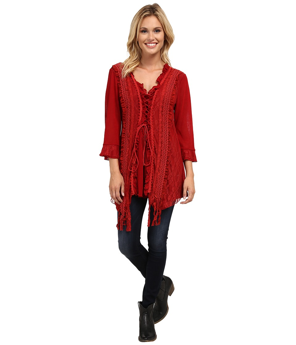 Scully - Honey Creek Storm (Red) Women's Clothing