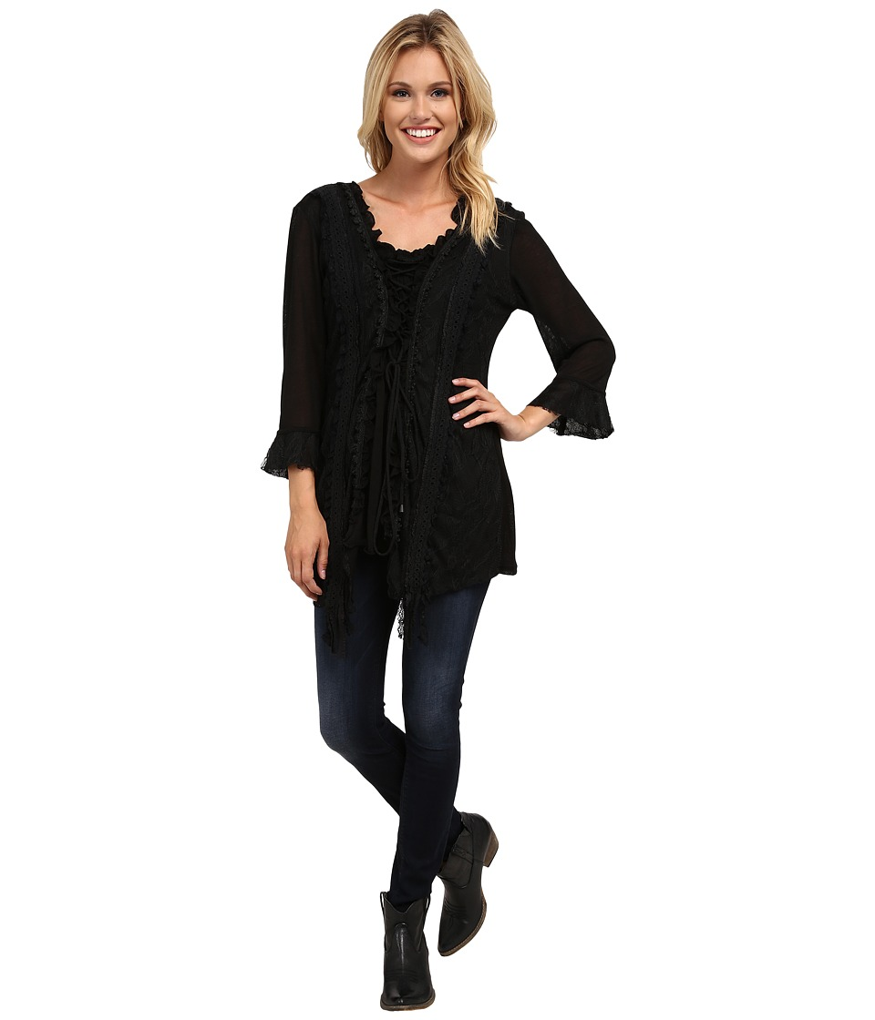Scully - Honey Creek Storm (Black) Women's Clothing