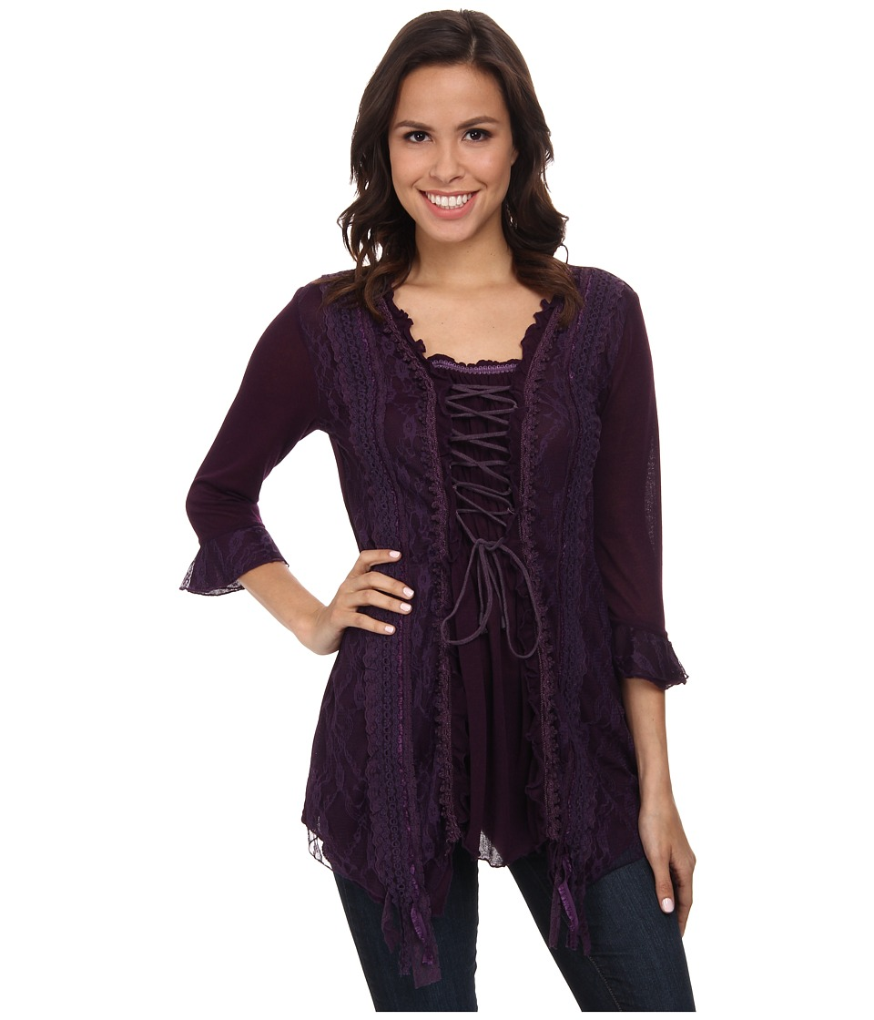 Scully - Honey Creek Storm (Purple) Women's Clothing