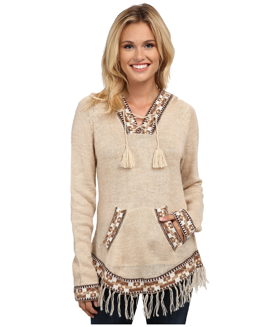 Scully - Eulalie Hooded Soft Sweater (Sand) Women's Sweater