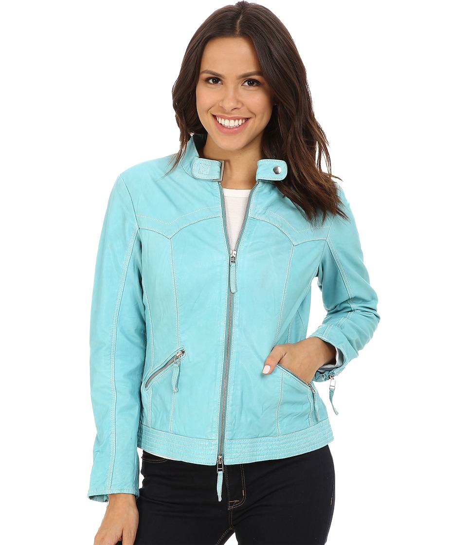 Scully - Lizbeth Very Light and Supple Leather (Turquoise) Women's Clothing