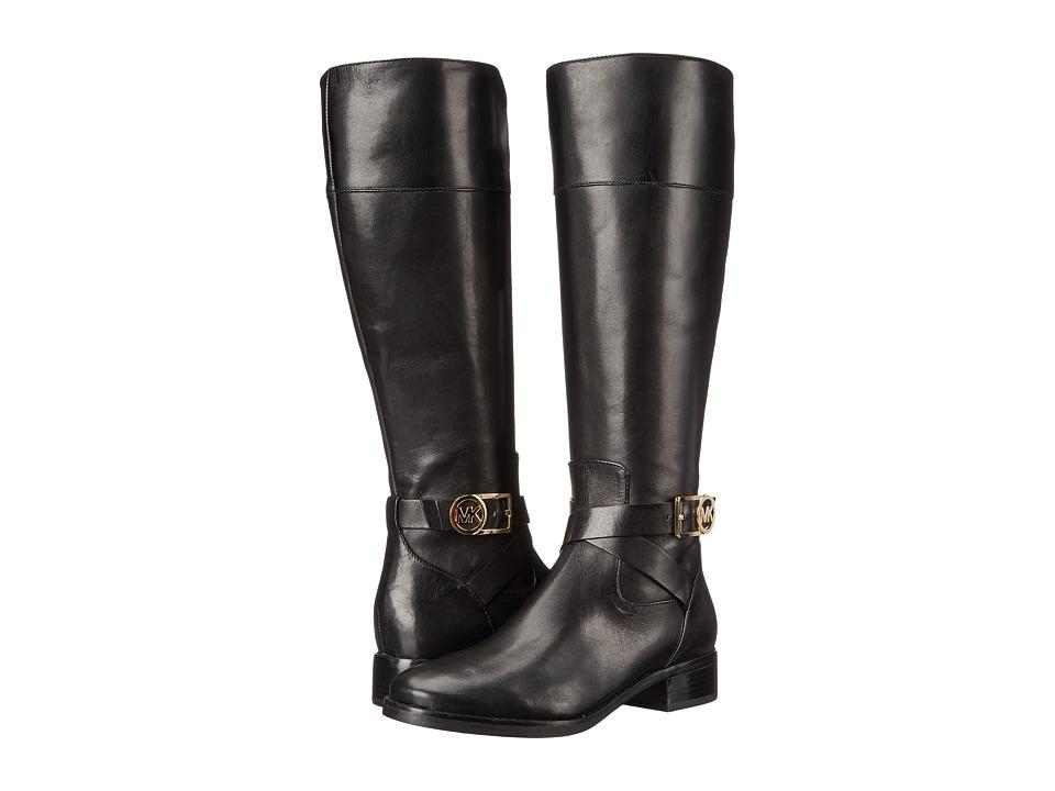 MICHAEL Michael Kors - Bryce Tall Boot (Black Vachetta) Women's Boots