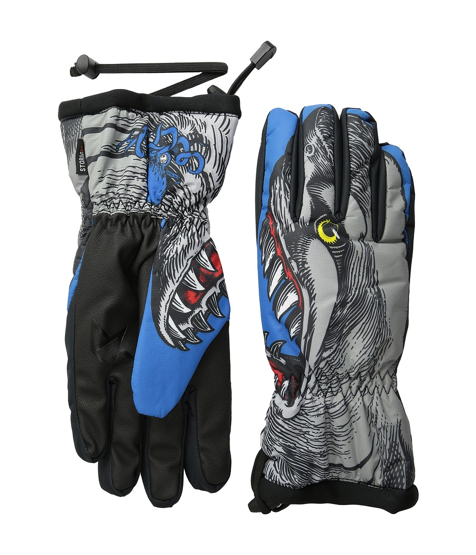 Celtek - Bitten By A Glove (Shark Attack) Snowboard Gloves