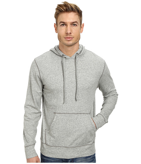 Lucky Brand - Grey Label Hoodie (Heather Grey) Men