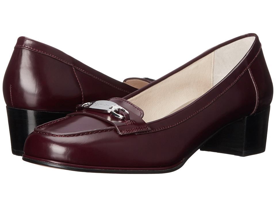 MICHAEL Michael Kors - Lainey Mid Loafer (Merlot Brush-Off) Women's 1-2 inch heel Shoes