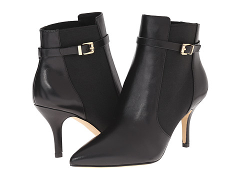 MICHAEL Michael Kors - Woods Bootie (Black Smooth Calf) Women's Boots