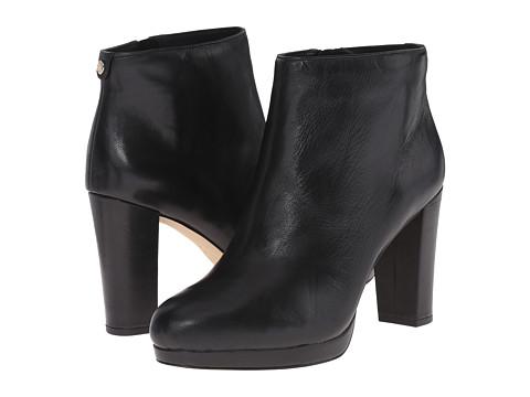 MICHAEL Michael Kors - Sammy Platform Bootie (Black Nappa) Women's Boots