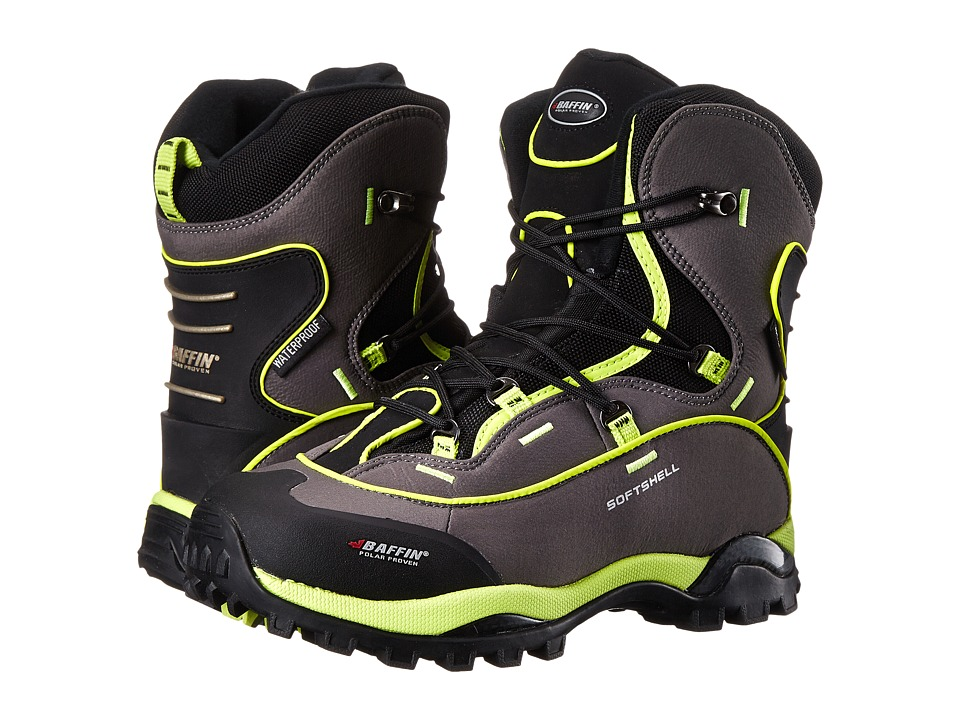 Baffin - Snosport (Charcoal/Floro Green) Women's Cold Weather Boots