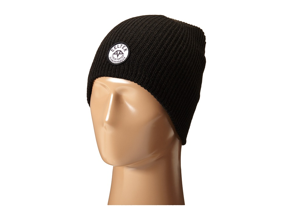 Celtek - Station Patch (Black) Beanies