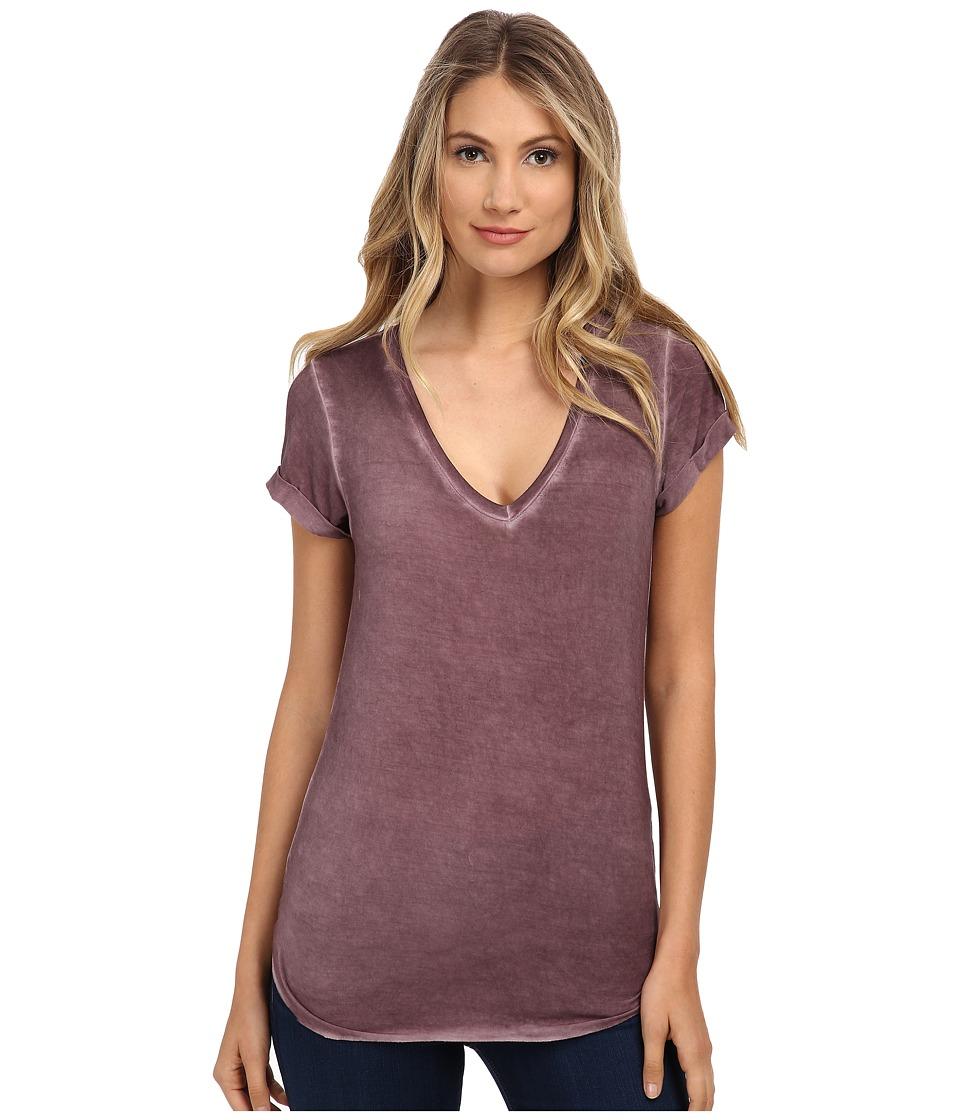 Paige - Charlie Tee (Vintage Velvet Plum) Women's T Shirt