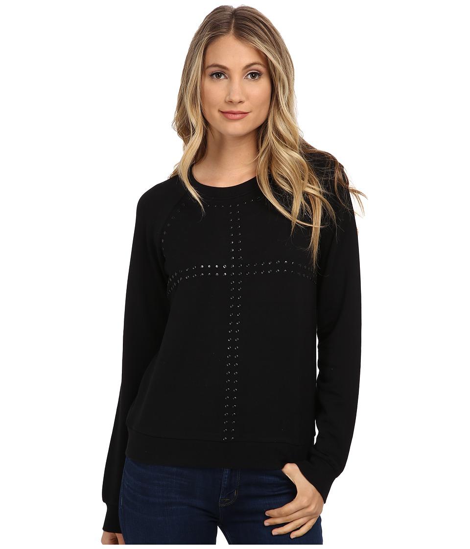 Paige - Agnes Embellished Sweatshirt (Black) Women