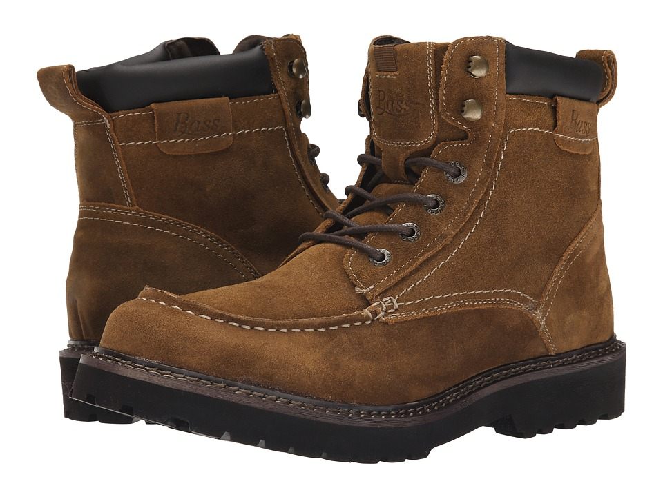 Bass - Errol (Rust/Dark Brown) Men's Lace-up Boots