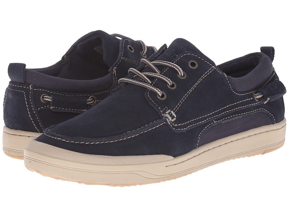 Bass - Hooper (Navy) Men's Lace up casual Shoes