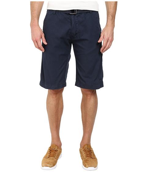 Buffalo David Bitton - Havard Flat Front Shorts (Whale) Men
