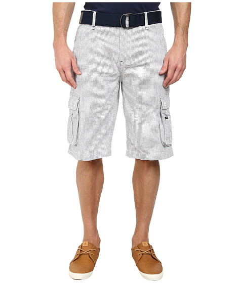 Buffalo David Bitton - Halford Bermudas Shorts (Whale Check) Men