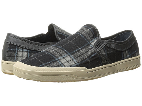 Bass - Hopewell (Black/Gray/Blue) Men's Slip on Shoes