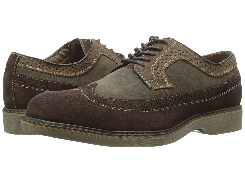 Bass - Pearson (New Dark Brown/Max Olive/Brown) Men