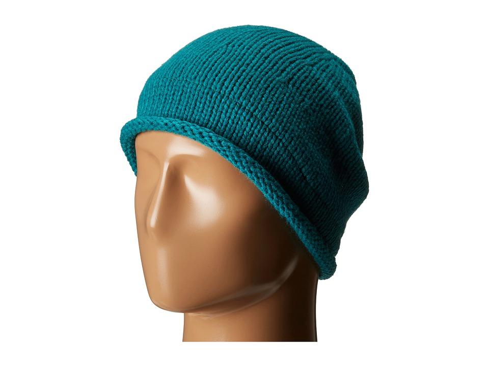 Celtek - Slouchy Fur (Emerald) Beanies