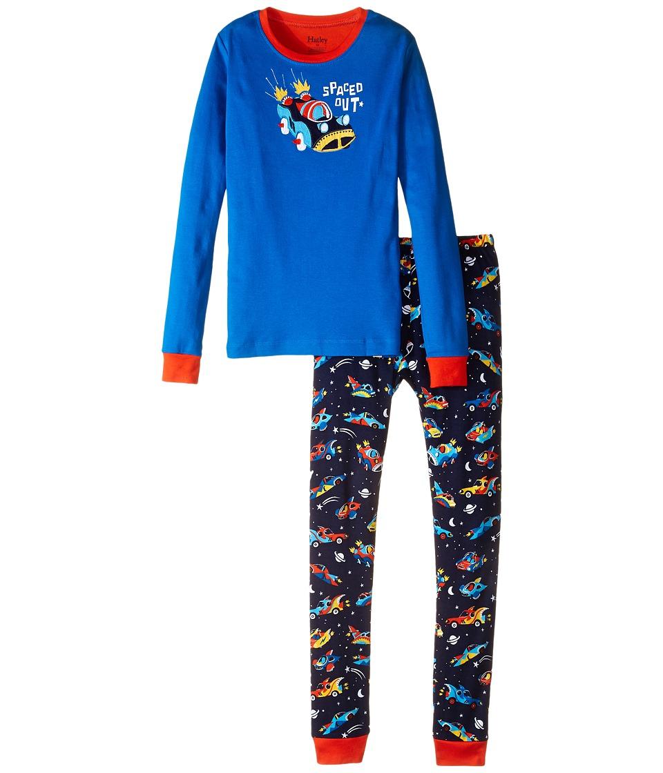 Hatley Kids - Space Cars Of The Future PJ Set (Toddler/Little Kids/Big Kids) (Navy) Boy's Pajama Sets