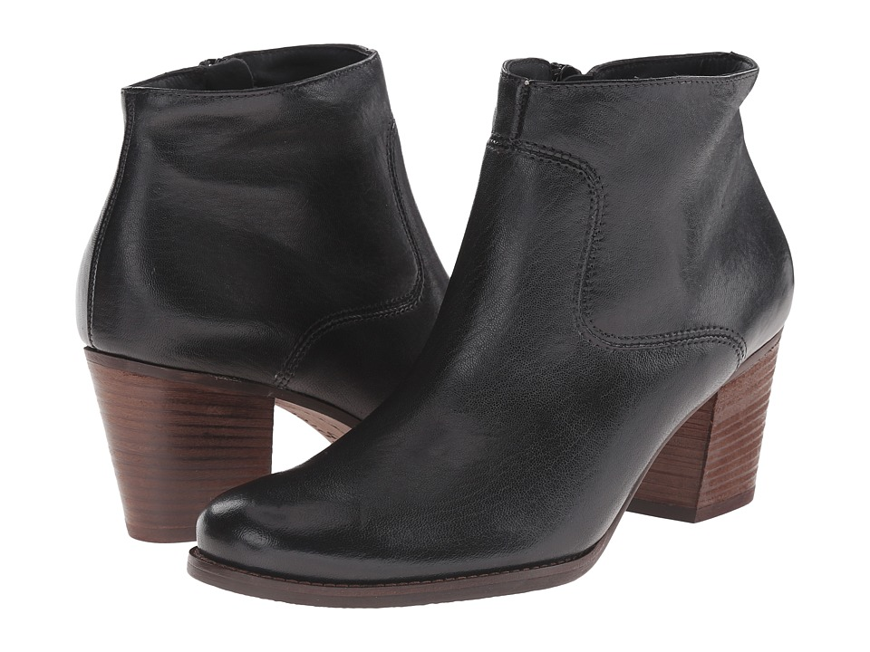 Paul Green Dexter Boot (Black Leather) Women