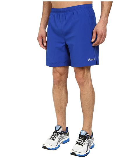 ASICS - Woven Shorts 7 (Air Force Blue) Men