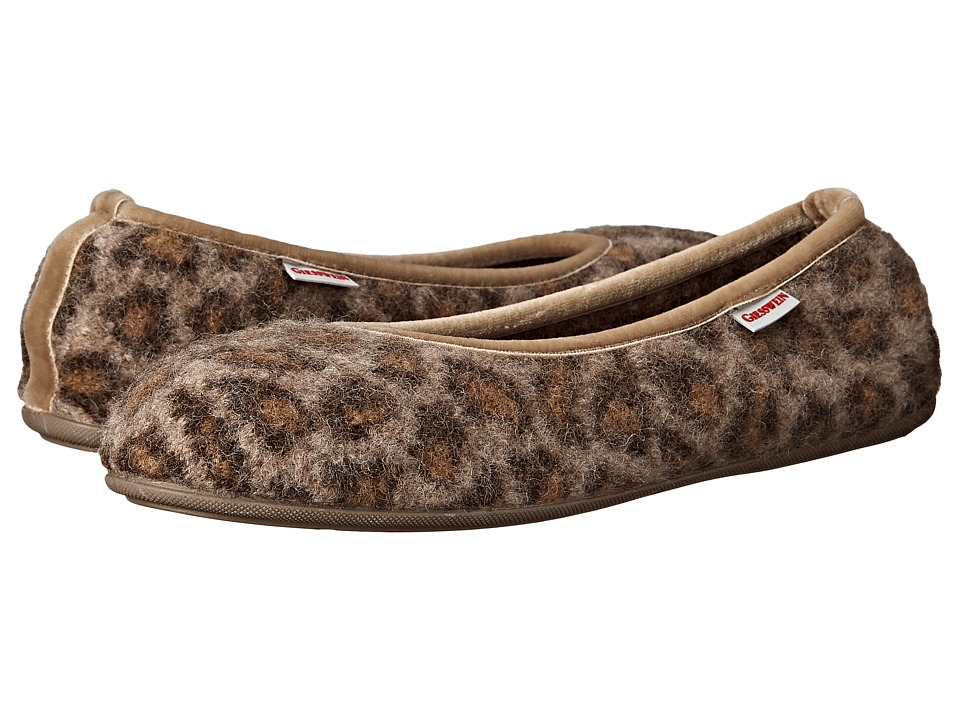 Giesswein - Lucie (Cheetah) Women's Slippers
