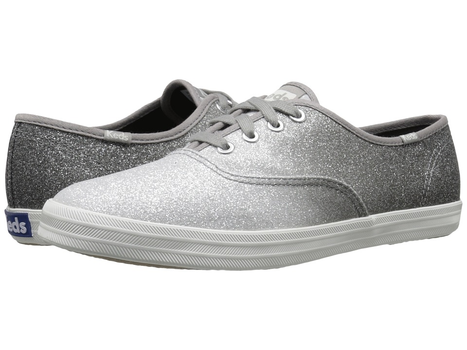 Keds Champion Ombre Glitter (Gray) Women