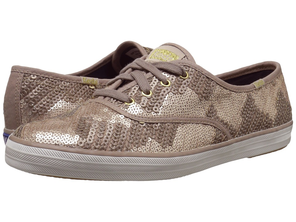 Keds - Champion Sequin (Bronze) Women's Lace up casual Shoes