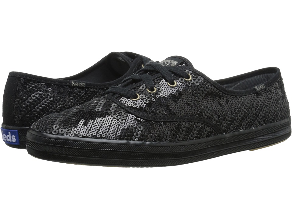 Keds - Champion Sequin (Black) Women