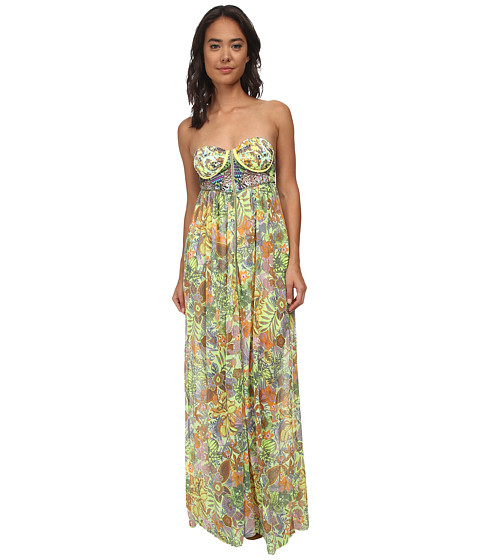 Maaji - Honey Pot Cover-Up Dress (Multi) Women's Dress