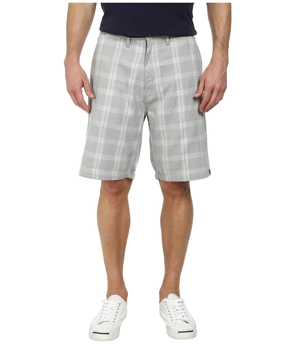 Quiksilver - Regent Stack PV Walk Shorts (High Rise Grey) Men
