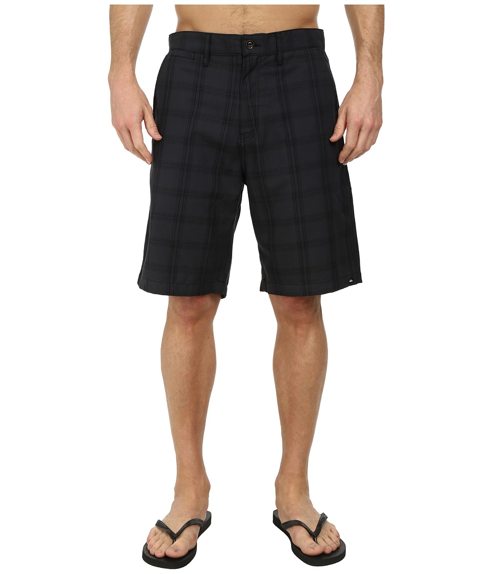 Quiksilver - Regent Stack PV Walk Shorts (Dark Shadow) Men's Shorts