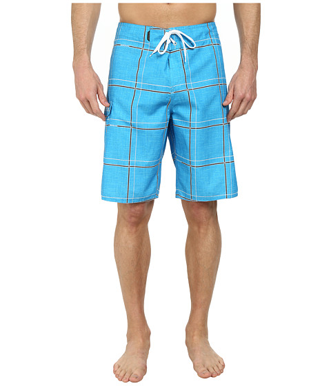 Quiksilver - Electric 21 Boardshorts (Electric Neon Blue) Men's Swimwear