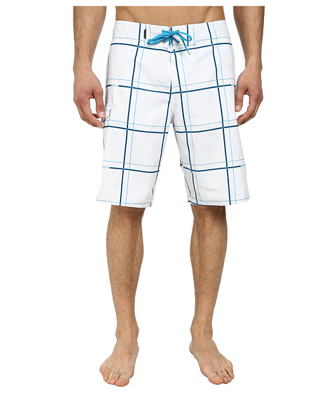 Quiksilver - Electric 21 Boardshorts (Electric White) Men's Swimwear