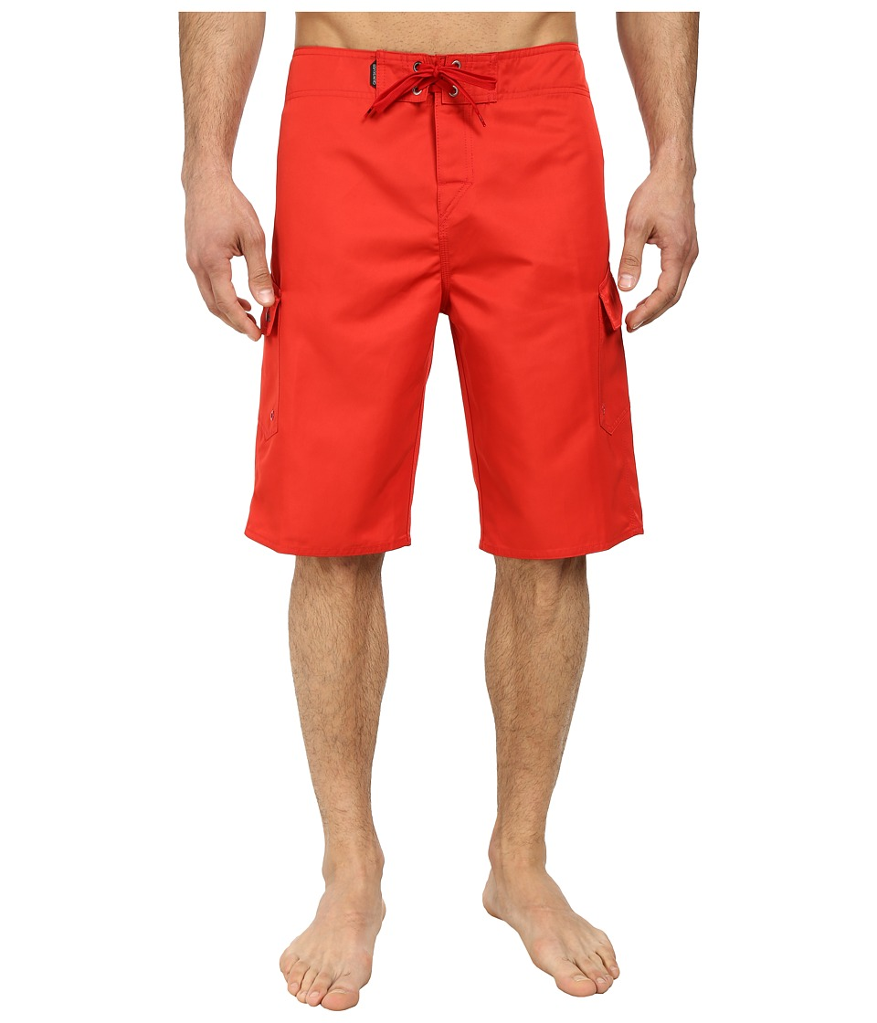 Quiksilver - Manic 22 Boardshorts (Quik Red) Men's Swimwear