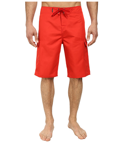 Quiksilver - Manic 22 Boardshorts (Quik Red) Men's Swimwear