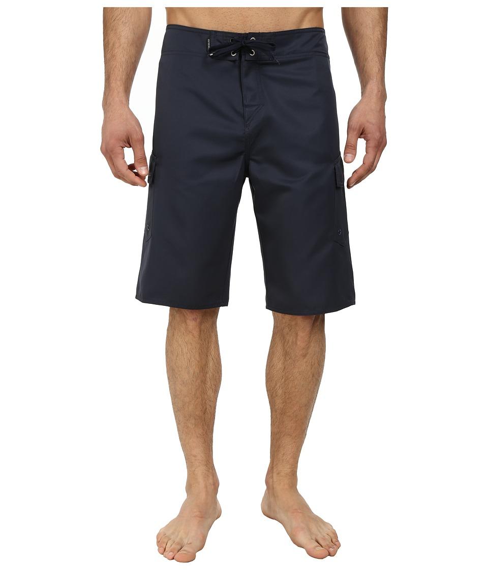 Quiksilver - Manic 22 Boardshorts (Navy Blazer) Men's Swimwear
