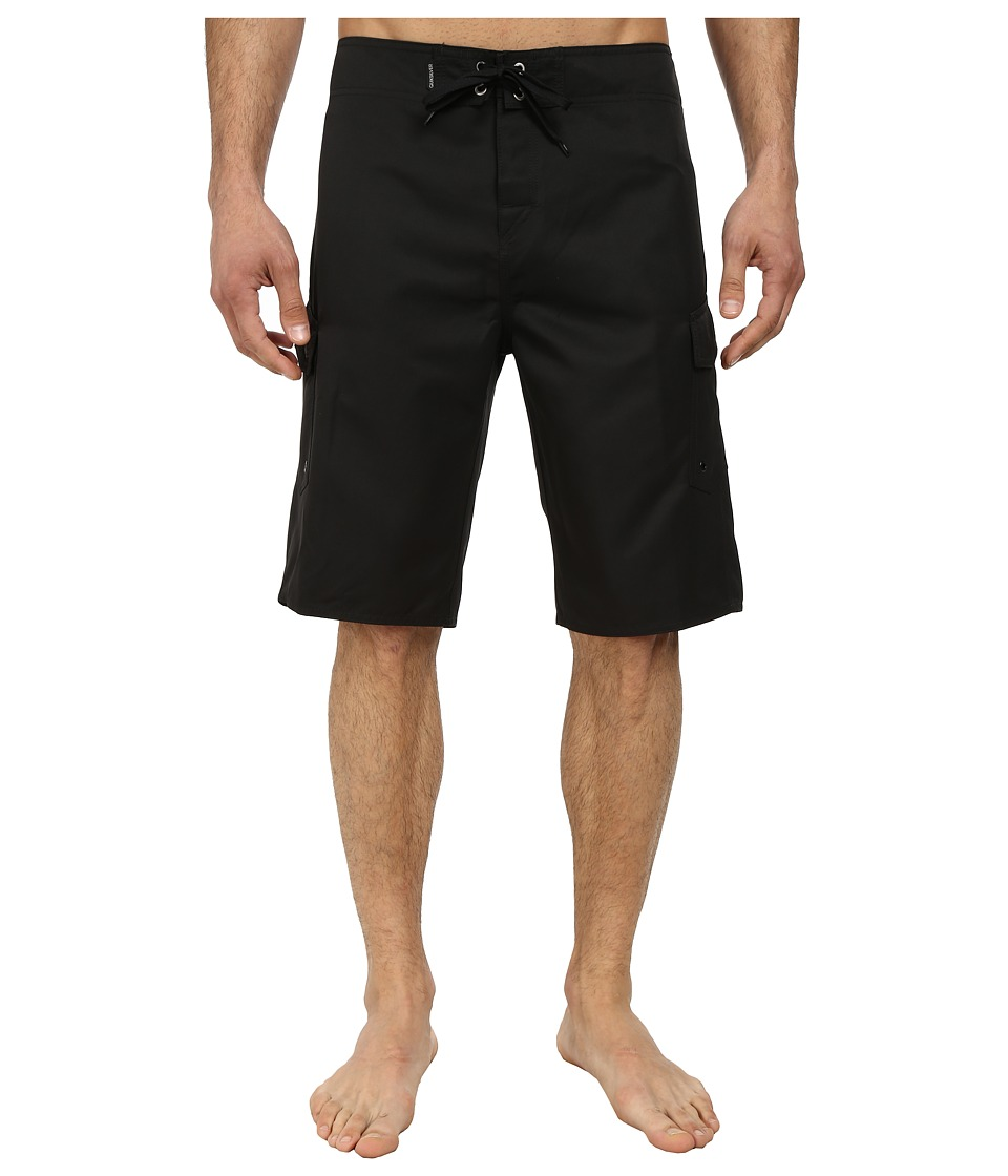 Quiksilver - Manic 22 Boardshorts (Black) Men's Swimwear