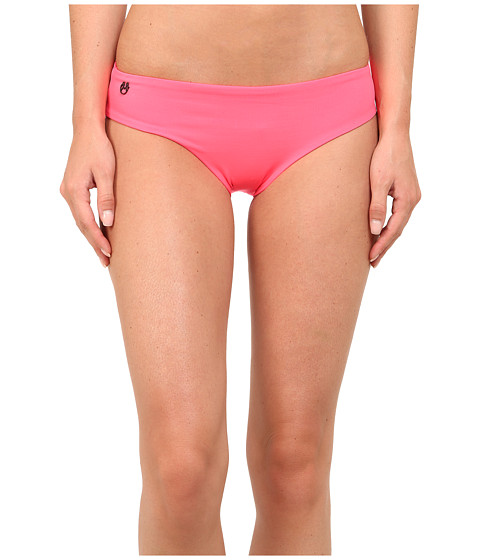 Maaji - Deep Brink Garden Bottom Hipster Cut (Pink) Women's Swimwear