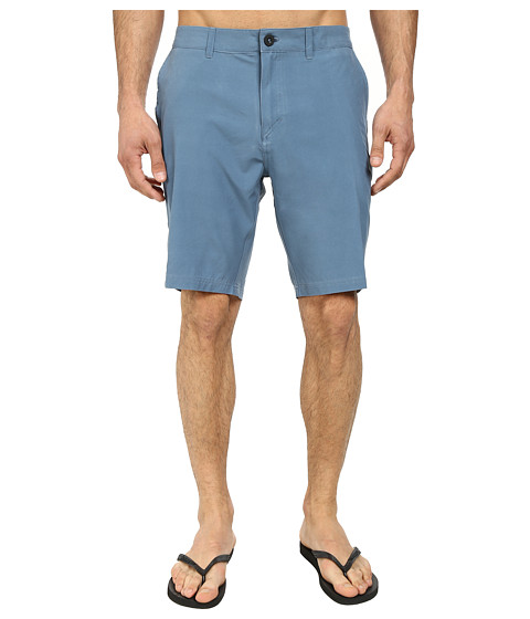 Quiksilver - Washed Amphibian 19 Walk Shorts (Bluestone) Men's Shorts