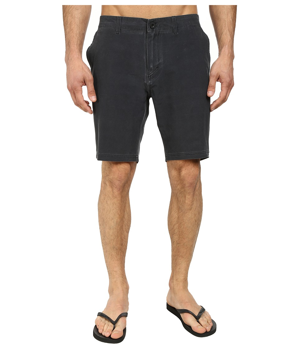 Quiksilver - Washed Amphibian 19 Walk Shorts (Tarmac) Men