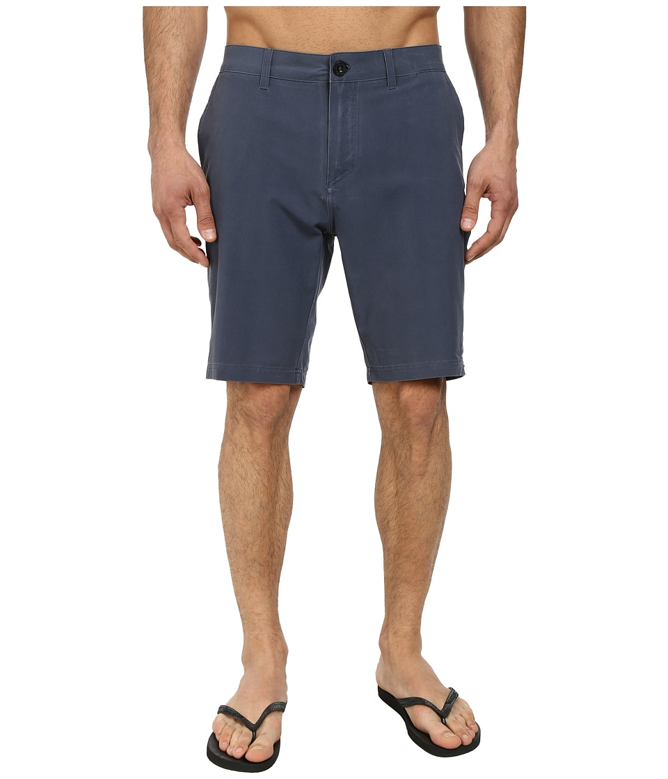 Quiksilver - Washed Amphibian 19 Walk Shorts (Navy Blazer) Men's Shorts