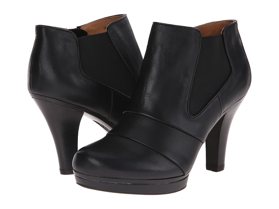 Sofft - Marden (Black Lucky Calf Milled) High Heels