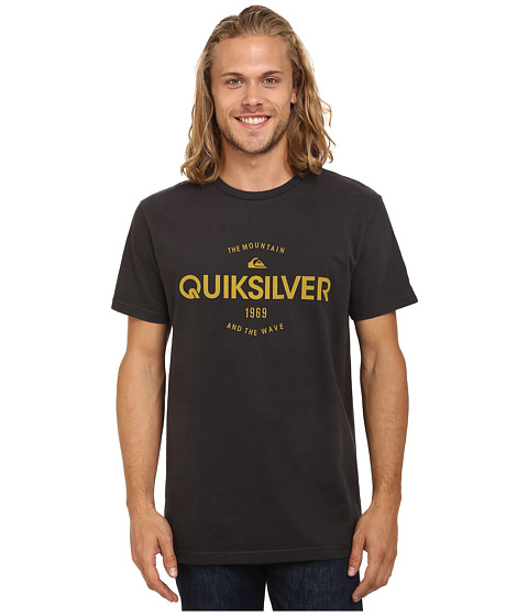 Quiksilver - Commander MT4 Screen Tee (Tarmac) Men