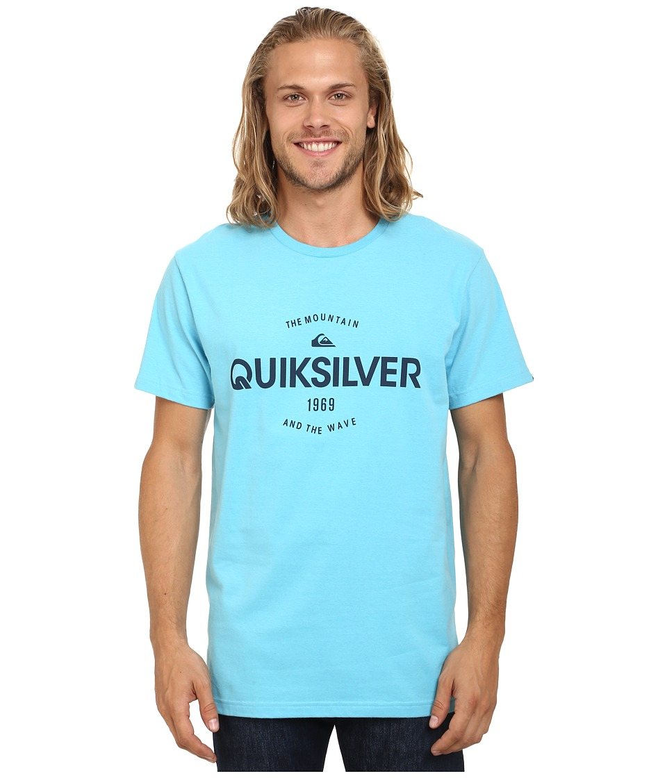 Quiksilver - Commander MT4 Screen Tee (Norse Blue) Men