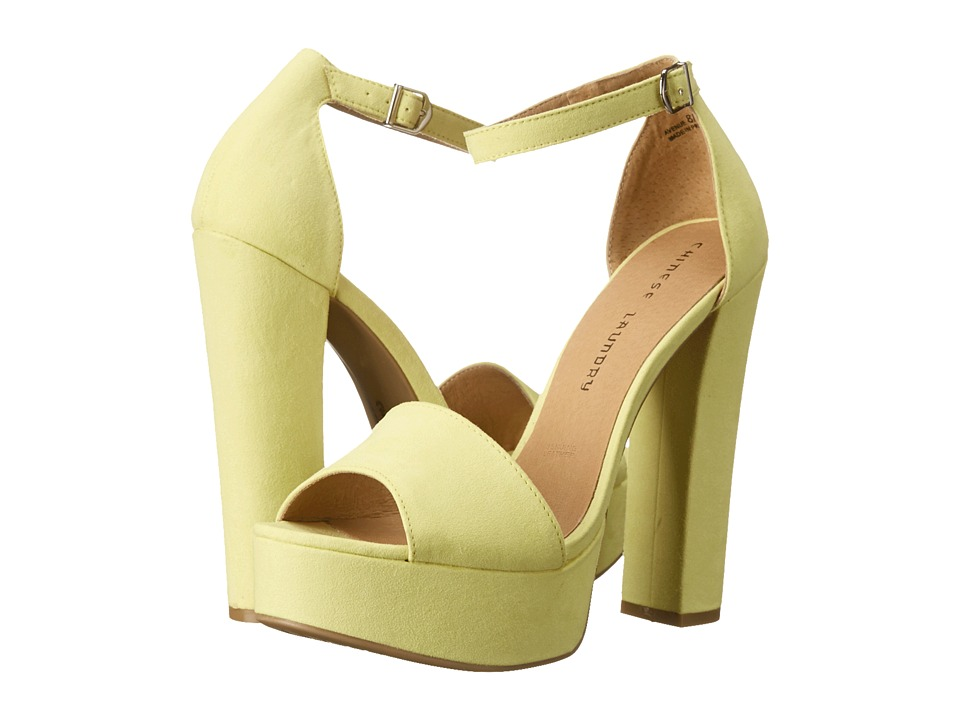 Chinese Laundry - Avenue (Lemon) Women's Sandals